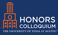 Honors Colloquium logo with UT Tower