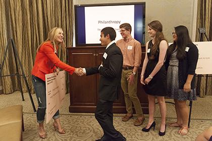 Philanthropy Check Award Ceremony