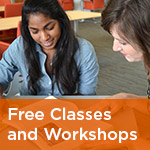 Free Classes and Workshops