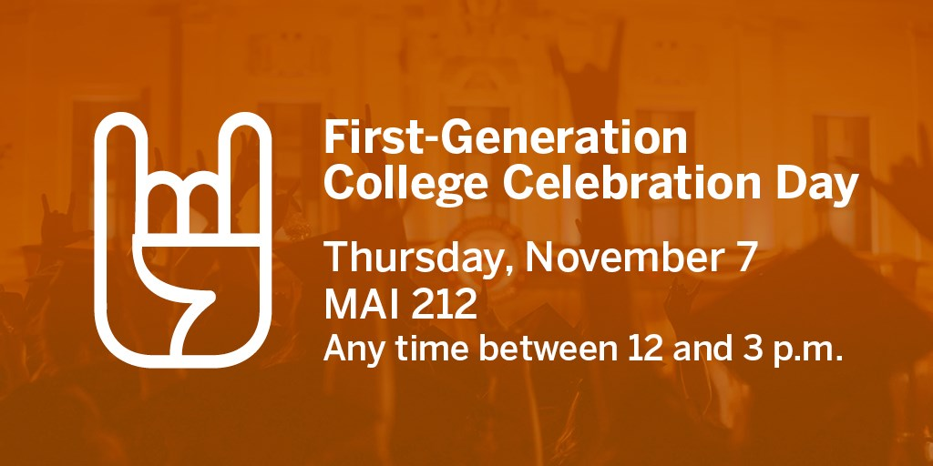 First Generation Celebration graphic