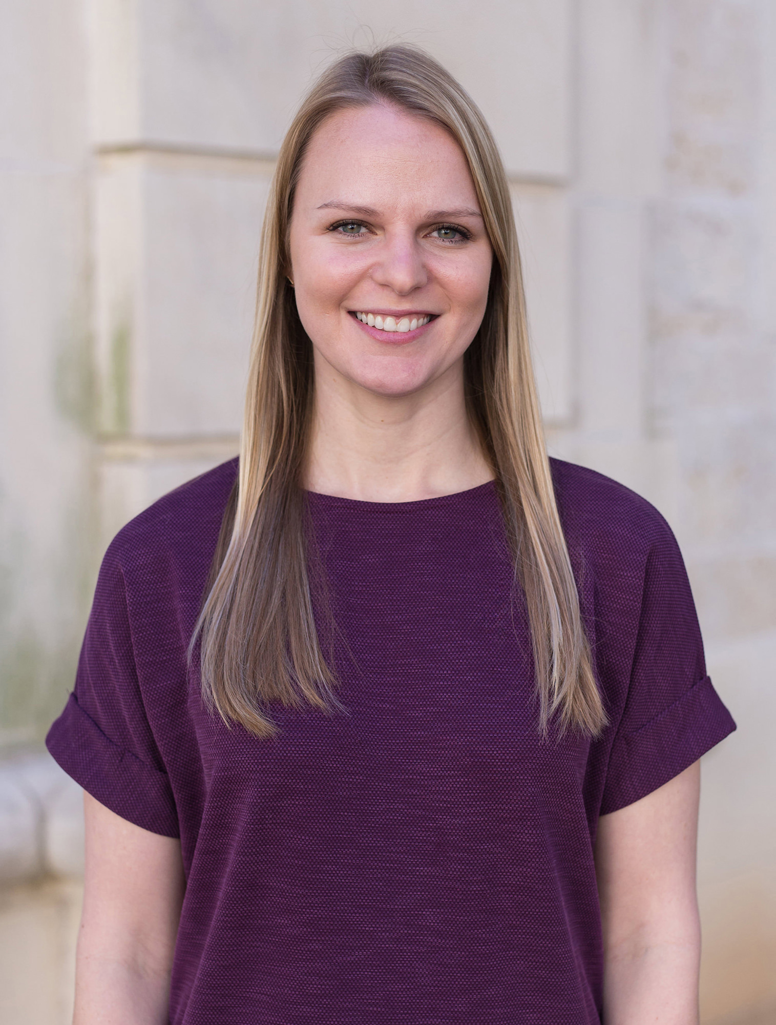 DSP staff member Emily Schroeder