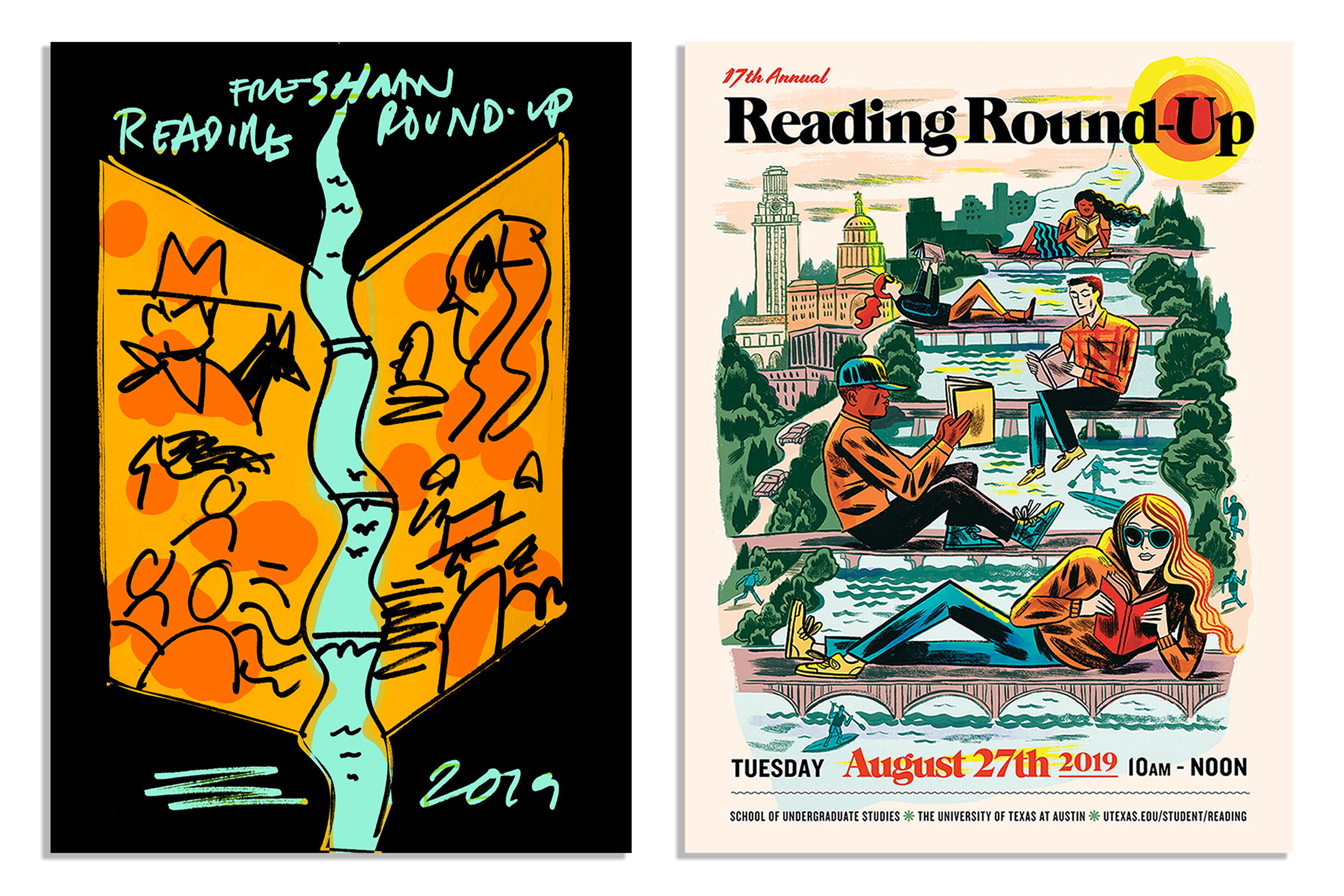Reading Round-Up Artwork