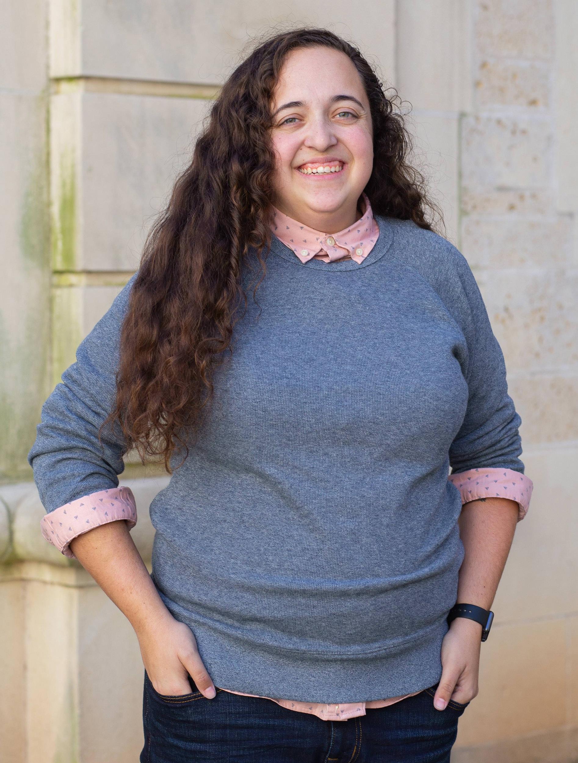 DSP staff member Kelsey Howard