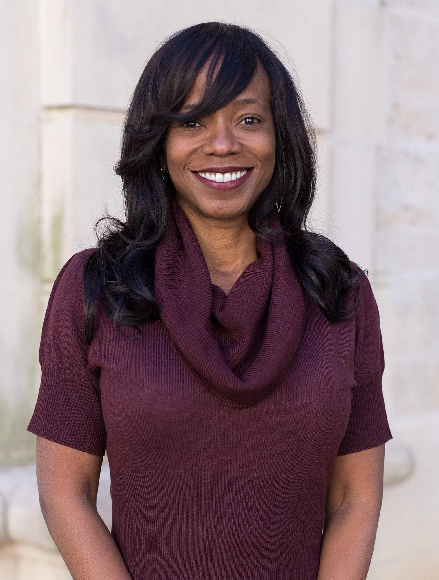DSP staff member Phaedra White