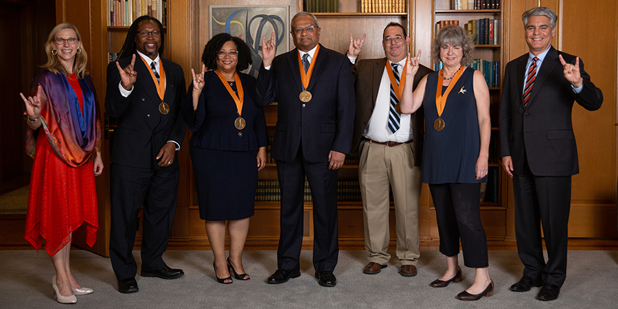 Academy of Distinguished Teachers 2019 inductees