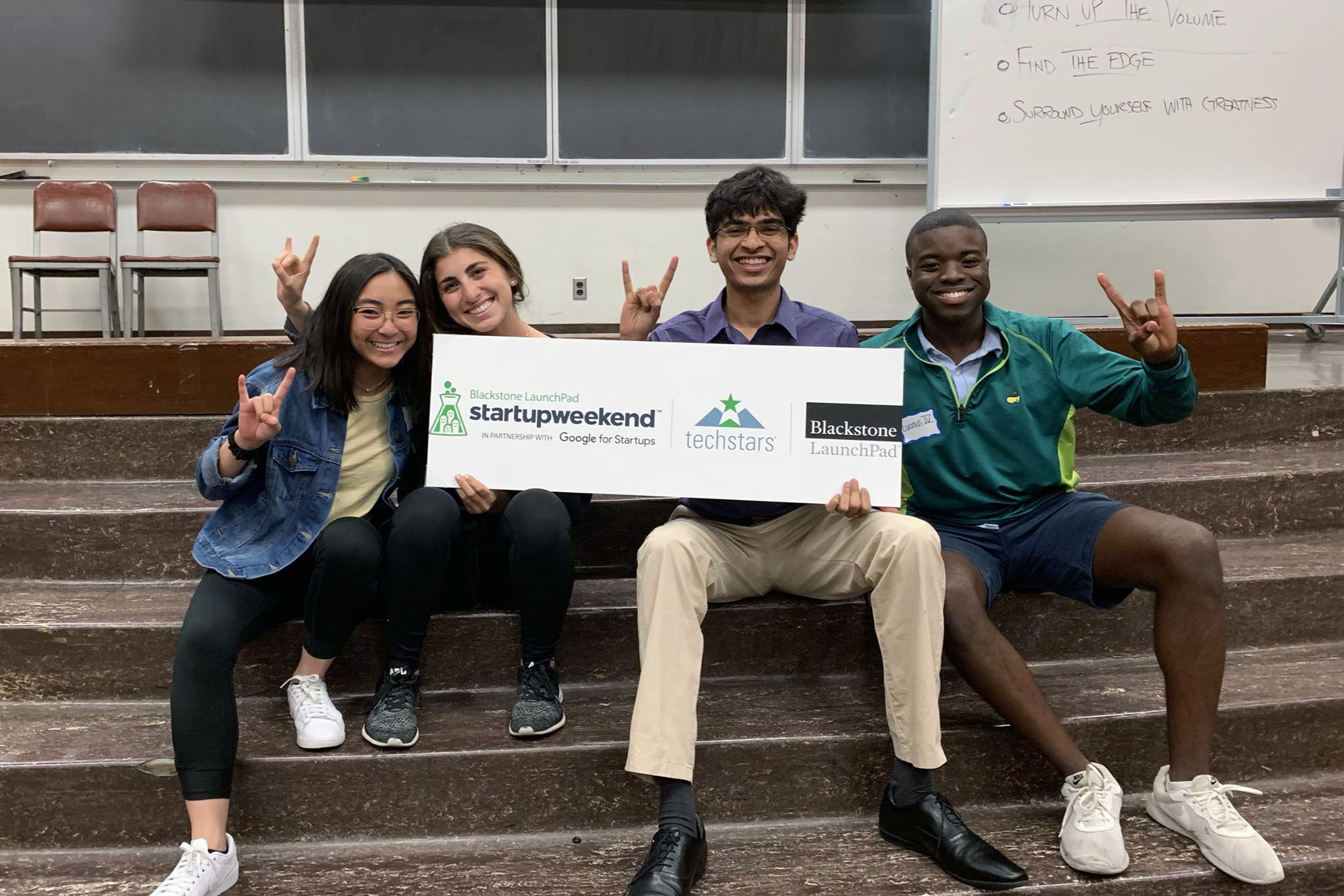 Students at Startup Weekend for Student Organizations