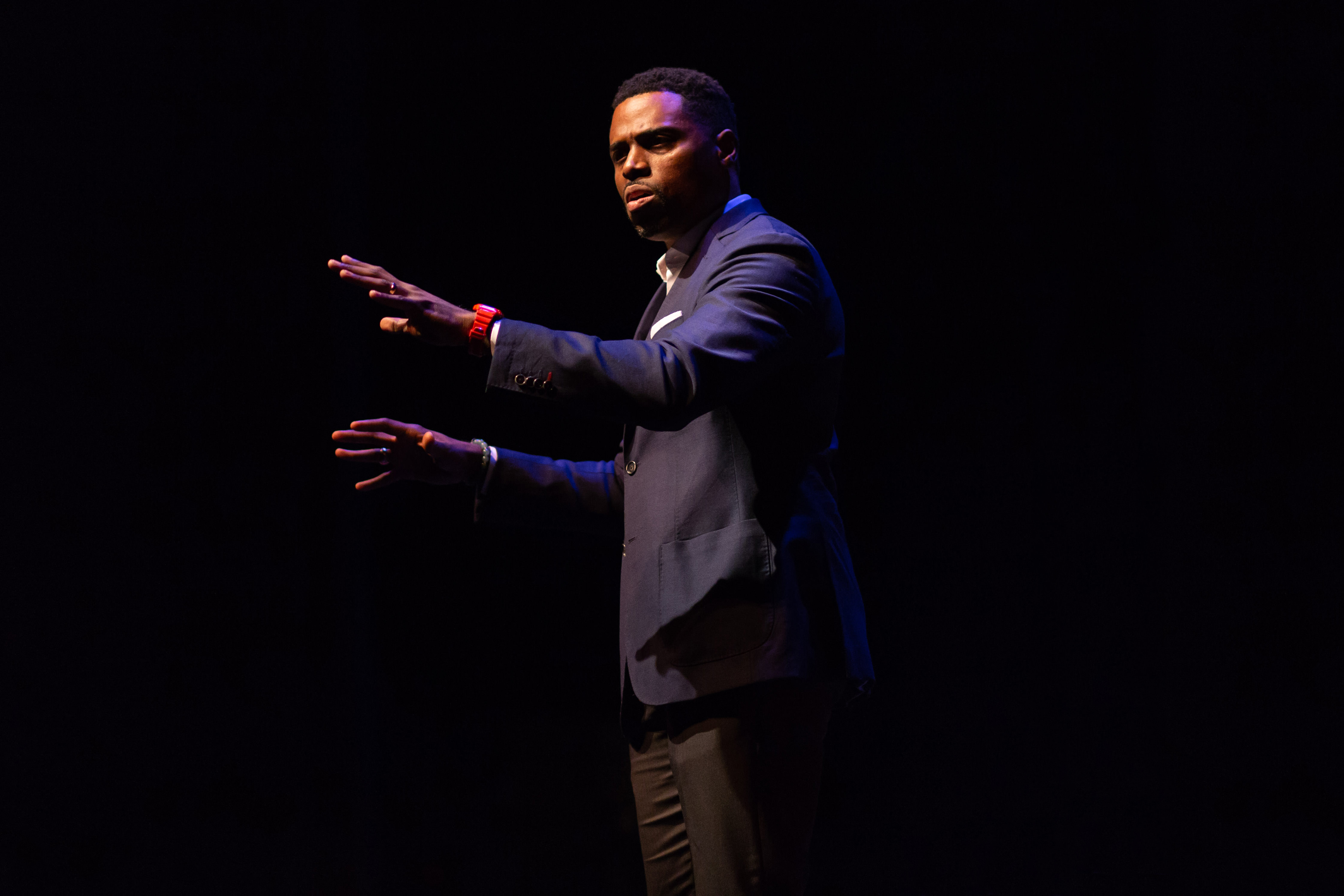 Daron Roberts at the University Lecture Series