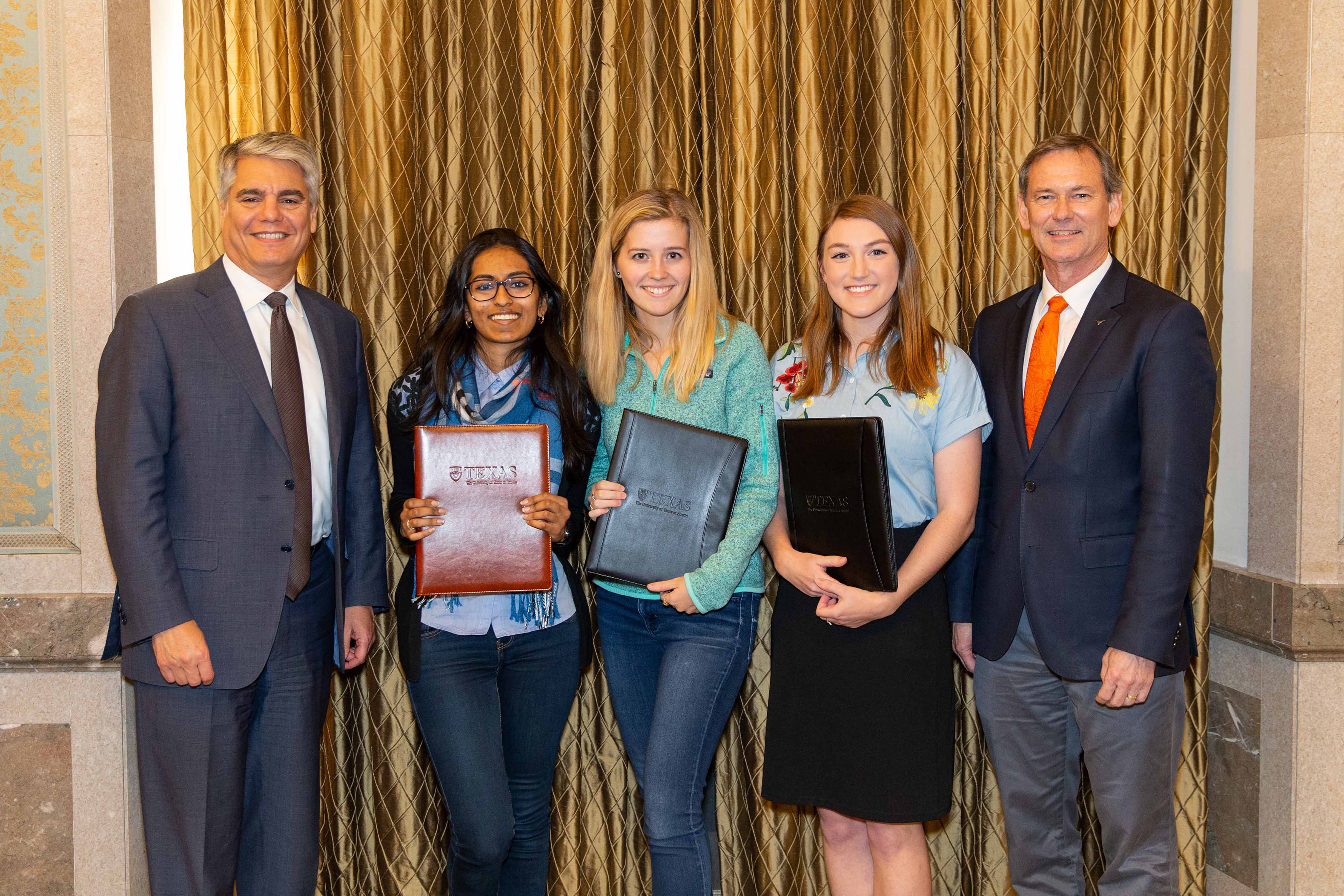 Winners of the 2018 Texas Student Research Showdown