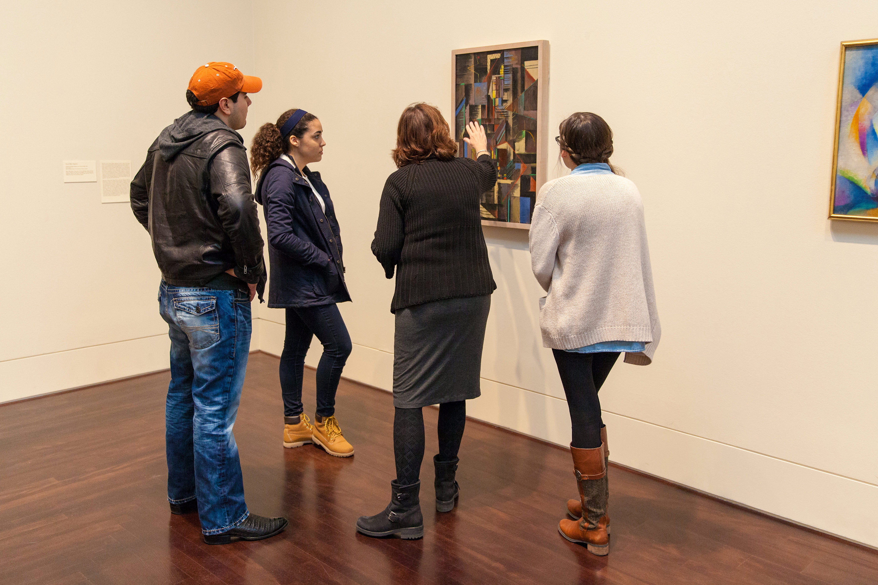 Signature Courses Collaborate with Blanton Museum and BeVocal