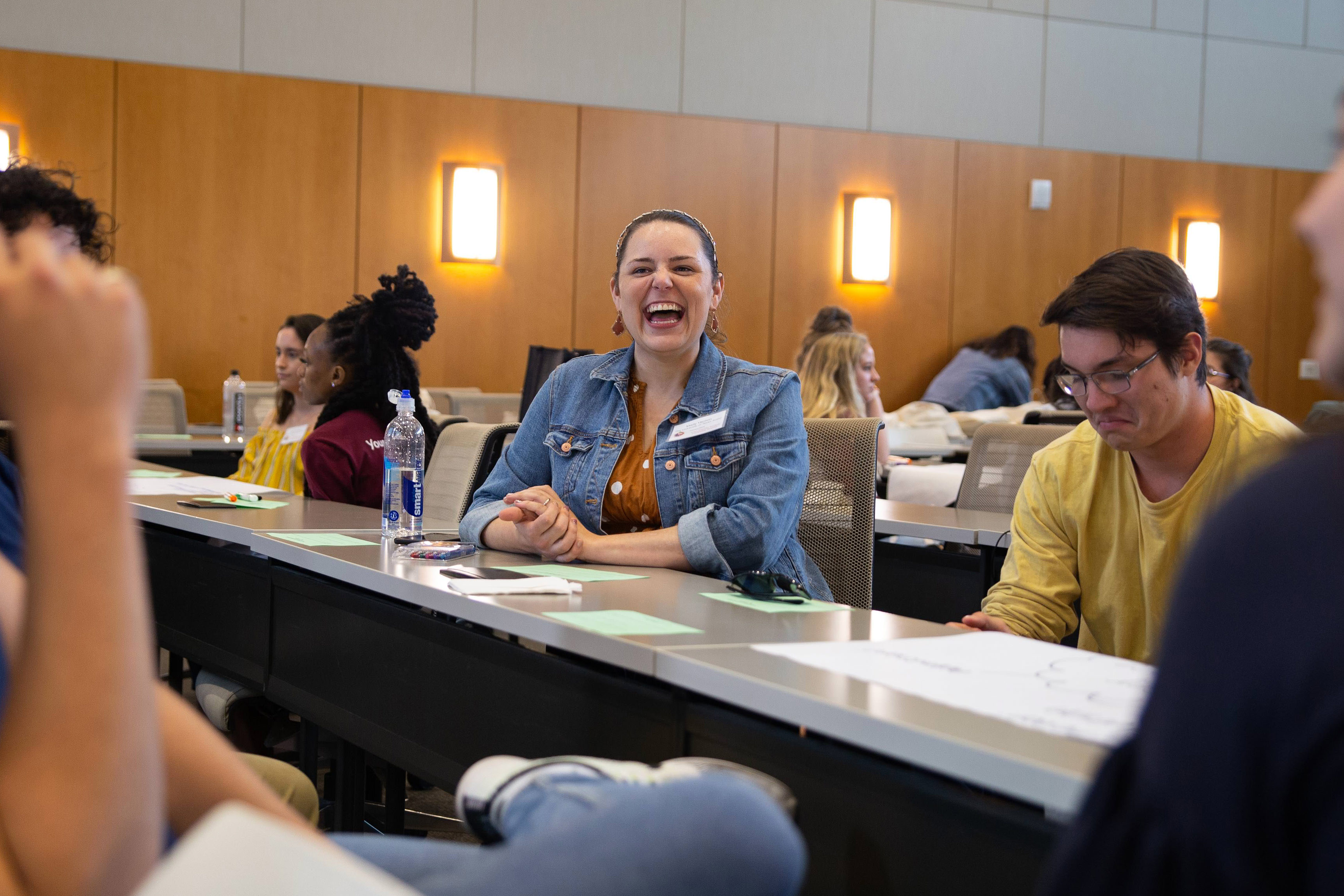 Mandy Vachon at the 2020 Transfer Student Leadership Summit