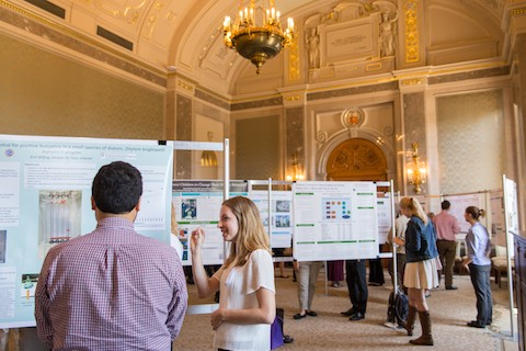 Photo from 2016 BDP Poster Session