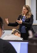 pat carter teaches her signature course