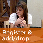 Register and add/drop