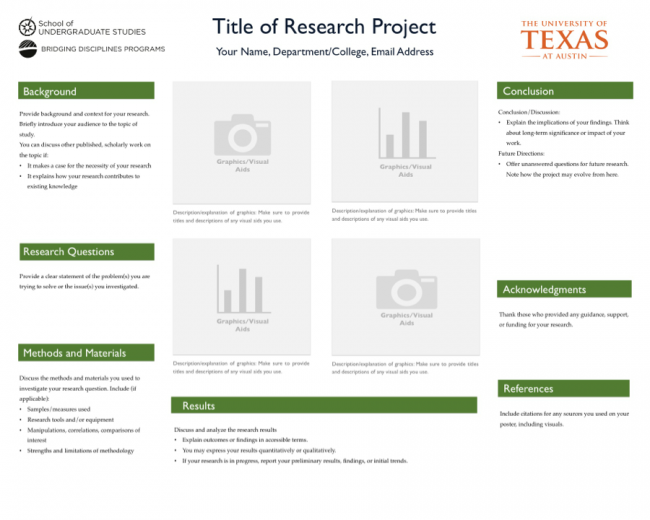 Undergraduate Research | TEXAS Undergraduate Studies
