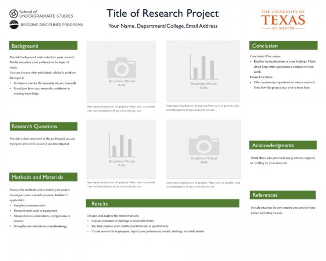 poster design templates school of undergraduate studies